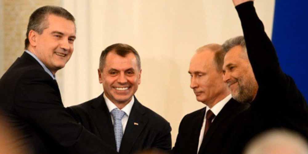 Российская пропаганда в Крыму. Часть 2. «Рефендум», культ Путина и аусвайсы