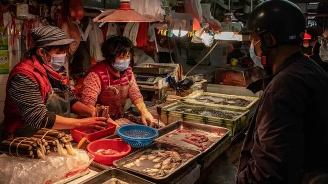 """Відкриваючи""""wetmarkets"""", Пекіннесе загрозусобіта іншому світу"""