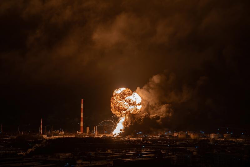 Очередная экологическая катастрофа в России.