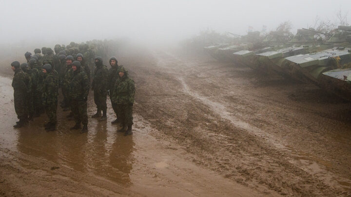 Кремлівський вовк в овечій шкурі: Російські агресивні військові навчання представлені як навчання протидії тероризму