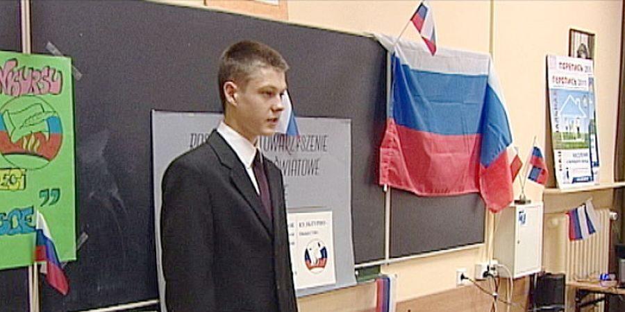 В Польщі зразу після випуску закрили першу російськомовну телепередачу за фальсифікацію історії та викривлення фактів