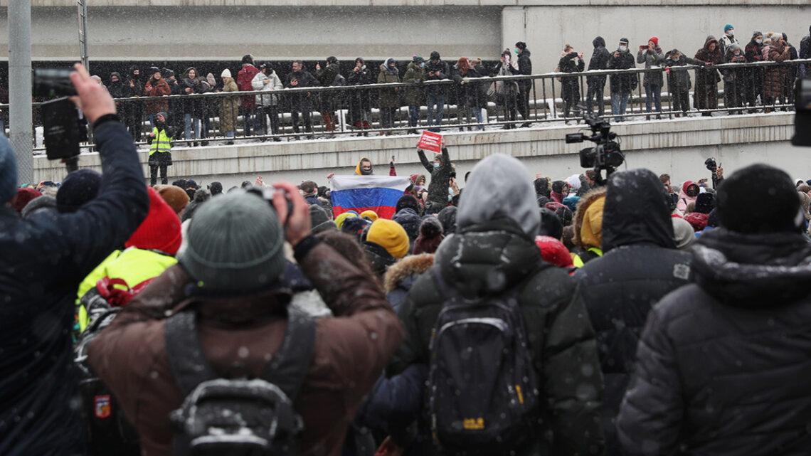 31 січня по всій Росії прокотилися акції протесту