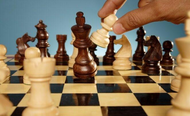 Шахматистка Дана