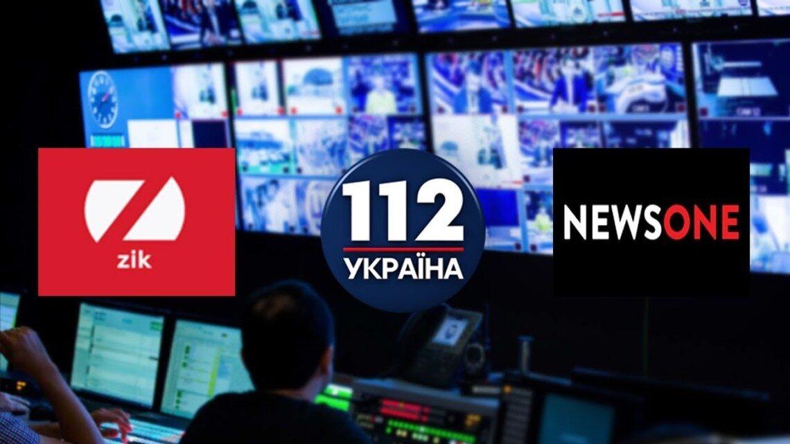 В Украине введены санкции против пророссийских телеканалов
