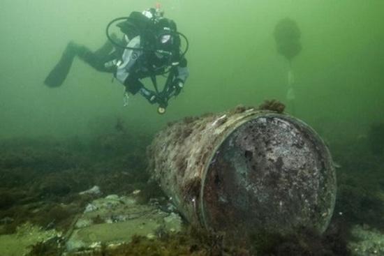 Хімічна зброя у Балтійському морі