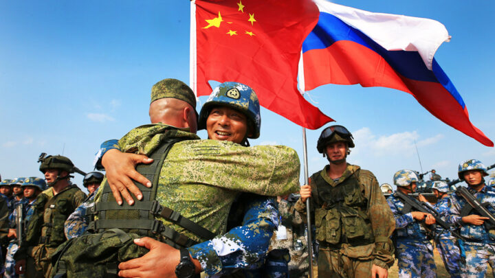 Beijing and Kremlin unite to tempt fate and agitate US