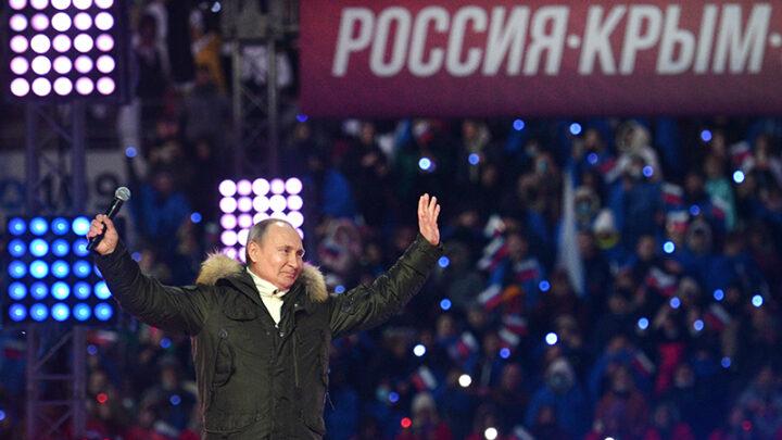 Путін є і завжди буде старий чекіст-окупант з гранатою в руці