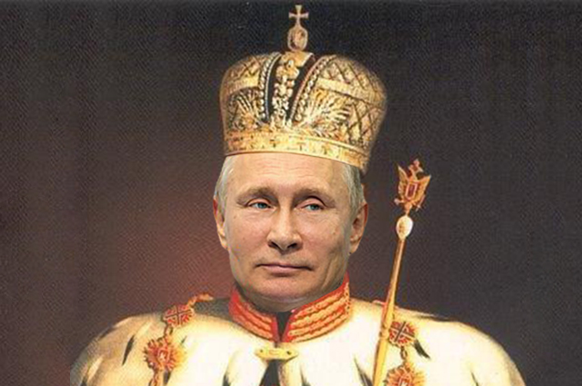 Путін де-факто цар Росії: церква може оголосити його сином божим