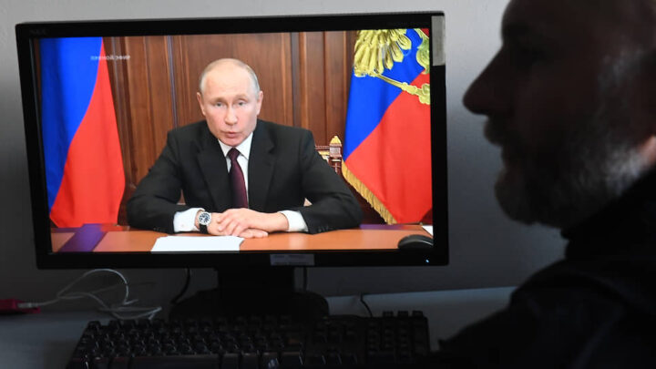 Might of Putin's regime is just an illusion