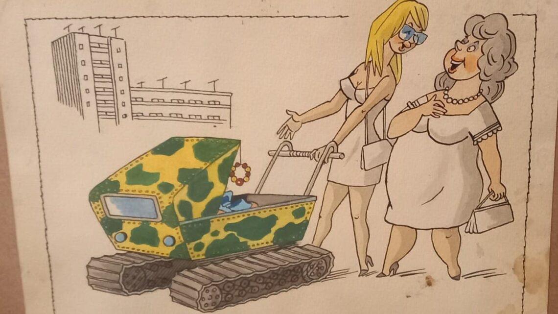 Росія- карикатура, що стала реальністю. Документ епохи